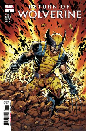 Return Of Wolverine #1 Cover A 1st Ptg Regular Steve McNiven Cover