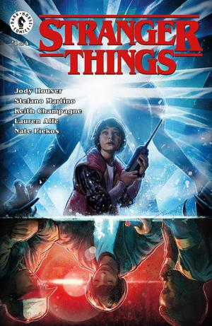 Stranger Things #1 Cover A Regular Aleksi Briclot Cover