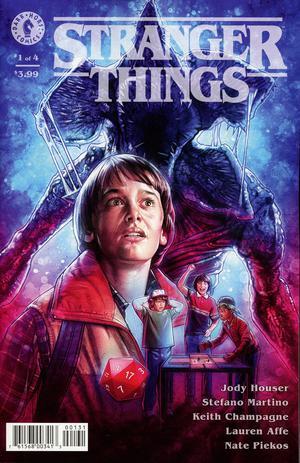 Stranger Things #1 Cover C Variant Kyle Lambert Cover