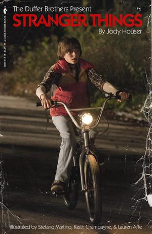 Stranger Things #1 Cover D Variant Photo Cover