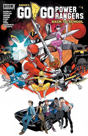 Sabans Go Go Power Rangers Back To School #1 Cover A Regular Dan Mora Cover