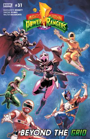 Mighty Morphin Power Rangers (BOOM Studios) #31 Cover A Regular Jamal Campbell Cover