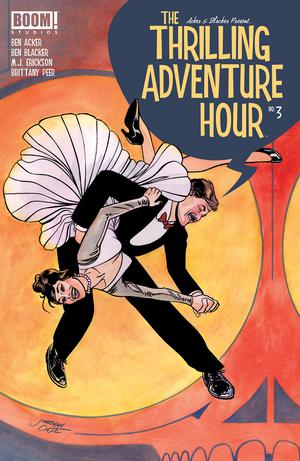 Thrilling Adventure Hour #3 Cover A Regular Jonathan Case Cover
