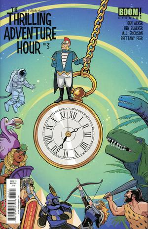 Thrilling Adventure Hour #3 Cover B Variant Natacha Bustos Subscription Cover