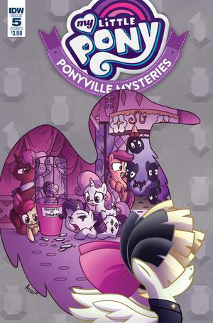 My Little Pony Ponyville Mysteries #5 Cover A Regular Agnes Garbowska Cover