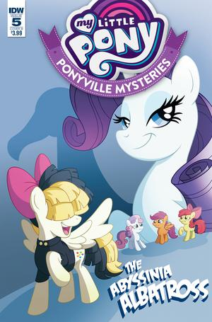 My Little Pony Ponyville Mysteries #5 Cover B Variant Philip Murphy Cover