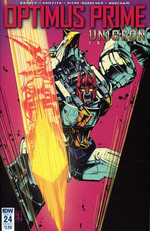 Optimus Prime #24 Cover A Regular Kei Zama Cover