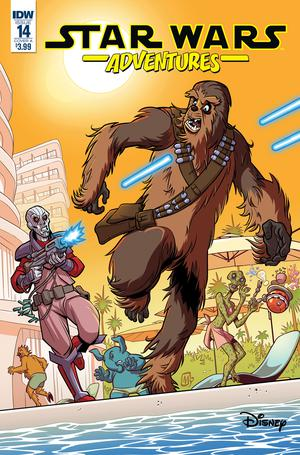 Star Wars Adventures #14 Cover A Regular Mauricet Cover