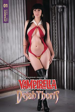 Vampirella Dejah Thoris #1 Cover E Variant Vampirella Cosplay Photo Cover