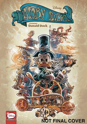 Disney Moby Dick Starring Donald Duck TP