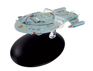 Star Trek Starships Figure Collection Magazine #132 Warship Voyager