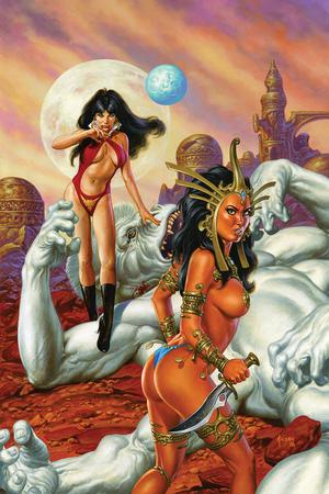 Vampirella Dejah Thoris #1 Cover L Incentive Joe Jusko Virgin Cover