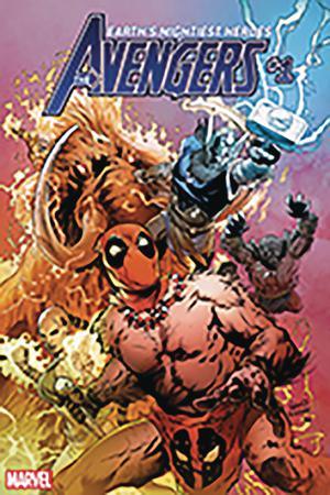 Avengers Vol 7 #1 Cover M DF Gold Signature Series Signed By Greg Land