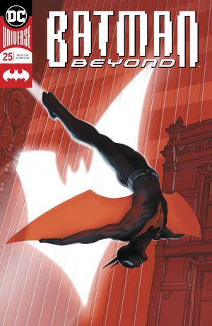 Batman Beyond Vol 6 #25 Cover A Regular Viktor Kalvachev Enhanced Foil Cover