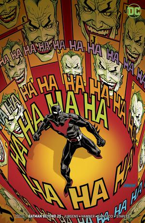 Batman Beyond Vol 6 #25 Cover B Variant Dave Johnson Cover