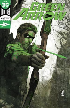 Green Arrow Vol 7 #45 Cover A Regular Alex Maleev Enhanced Foil Cover (Heroes In Crisis Tie-In)