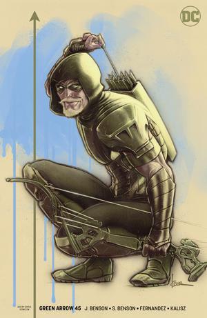 Green Arrow Vol 7 #45 Cover B Variant Kaare Andrews Cover (Heroes In Crisis Tie-In)