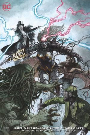Justice League Dark And Wonder Woman Witching Hour #1 Cover B Variant Riccardo Federici Cover (Witching Hour Part 5)