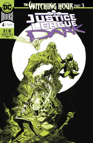 Justice League Dark Vol 2 #4 Cover A Regular Riley Rossmo Enhanced Foil Cover (Witching Hour Part 3)