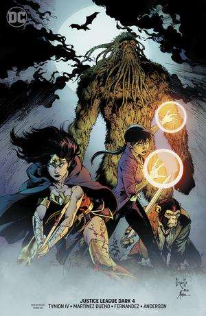 Justice League Dark Vol 2 #4 Cover B Variant Greg Capullo & Jonathan Glapion Cover (Witching Hour Part 3)