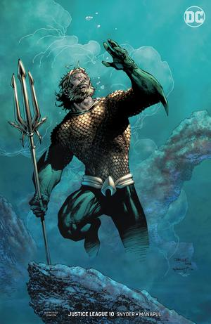 Justice League Vol 4 #10 Cover B Variant Jim Lee & Scott Williams Cover (Drowned Earth Prelude)
