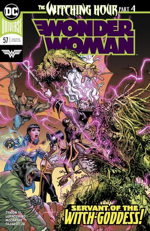 Wonder Woman Vol 5 #57 Cover A Regular David Yardin Cover (Witching Hour Part 4)