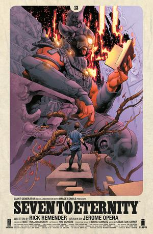 Seven To Eternity #13 Cover A Regular Jerome Opena & Matt Hollingsworth Cover