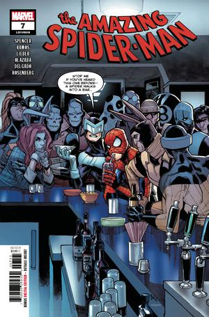 Amazing Spider-Man Vol 5 #7 Cover A 1st Ptg Regular Humberto Ramos Cover