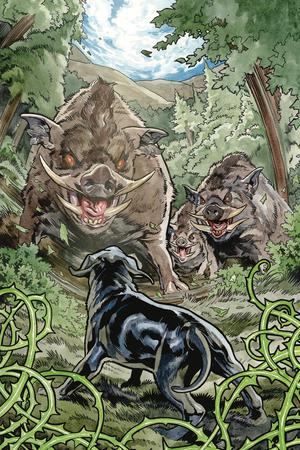 Beasts Of Burden Wise Dogs And Eldritch Men #3 Cover A Regular Benjamin Dewey Cover