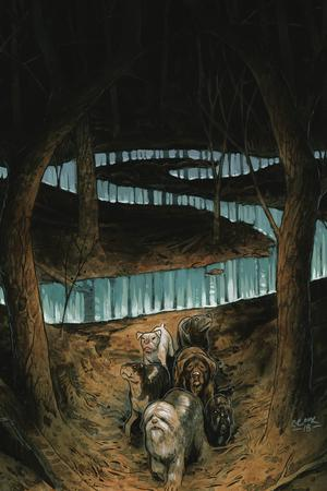 Beasts Of Burden Wise Dogs And Eldritch Men #3 Cover B Variant Tyler Crook Cover