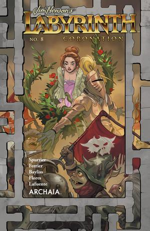 Jim Hensons Labyrinth Coronation #8 Cover A Regular Fiona Staples Cover