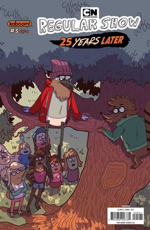 Regular Show 25 Years Later #5 Cover B Variant Ling Chen Subscription Cover