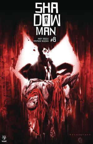 Shadowman Vol 5 #8 Cover B Variant Keron Grant Cover