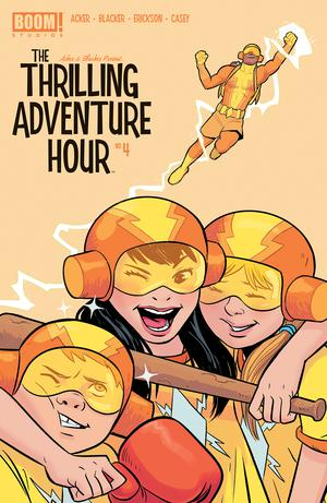 Thrilling Adventure Hour #4 Cover B Variant Natacha Bustos Subscription Cover