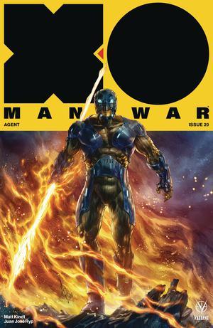 X-O Manowar Vol 4 #20 Cover B Variant Alan Quah Cover