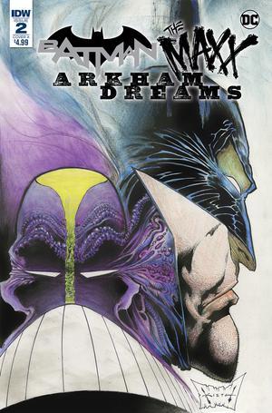 Batman The MAXX Arkham Dreams #2 Cover A Regular Sam Kieth Cover