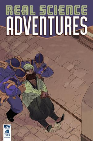 Real Science Adventures Nicodemus Job #4 Cover A Regular Meredith McClaren Cover