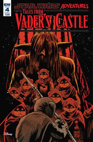 Star Wars Adventures Tales From Vaders Castle #4 Cover A Regular Francesco Francavilla Cover