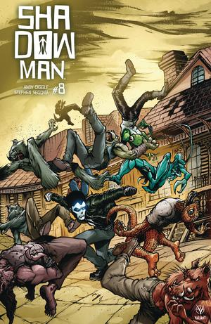 Shadowman Vol 5 #8 Cover E Incentive Ryan Lee Interlocking Variant Cover