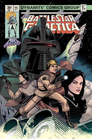 Battlestar Galactica Classic #0 Cover A Regular Sean Chen Cover