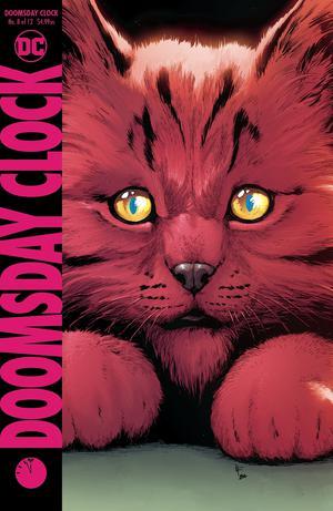 Doomsday Clock #8 Cover A Regular Gary Frank Cover