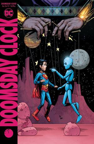 Doomsday Clock #8 Cover B Variant Gary Frank Cover