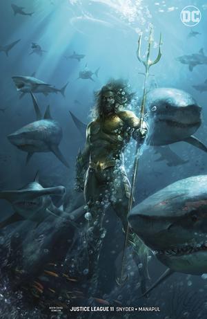 Justice League Vol 4 #11 Cover B Variant Francesco Mattina Aquaman Movie Cover (Drowned Earth Part 2)