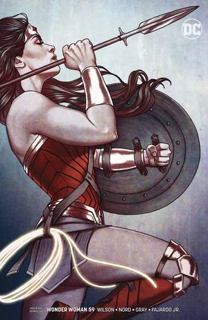 Wonder Woman Vol 5 #59 Cover B Variant Jenny Frison Cover