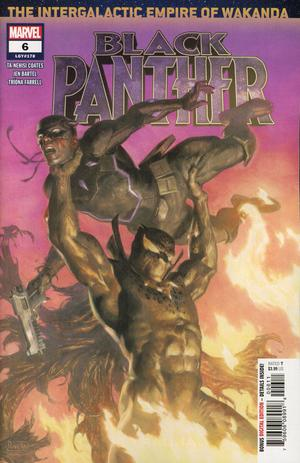 Black Panther Vol 7 #6 Cover A Regular Paolo Rivera & Daniel Acuna Cover