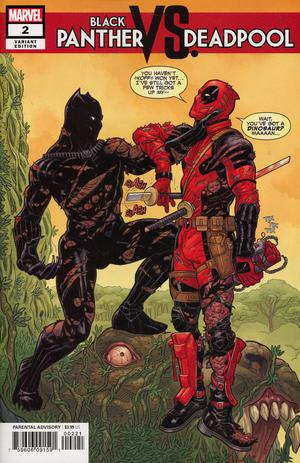 Black Panther vs Deadpool #2 Cover B Variant Steve Skroce Cover