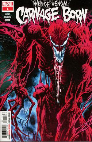 Web Of Venom Carnage Born #1 Cover A Regular Kyle Hotz Cover