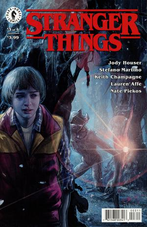 Stranger Things #3 Cover A Regular Aleksi Briclot Cover