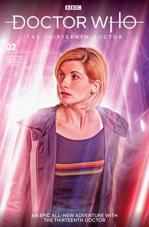 Doctor Who 13th Doctor #2 Cover B Variant Will Brooks Cover