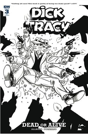 Dick Tracy Dead Or Alive #3 Cover C Incentive Michael Allred Coloring Book Variant Cover